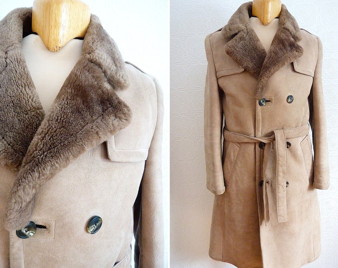 Genuine sheep skin winter coat