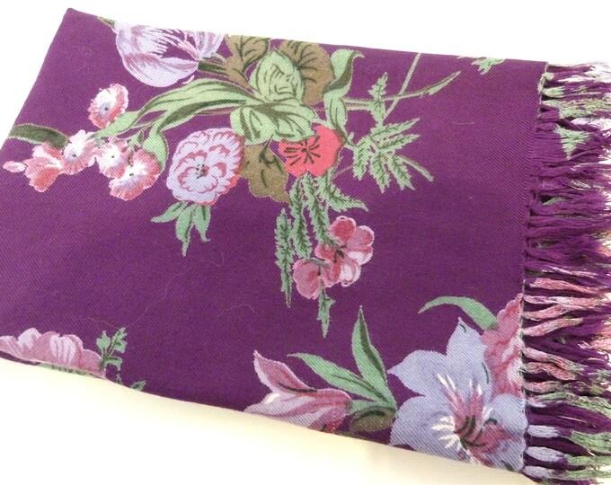 April Cornell thick & soft cotton scarf