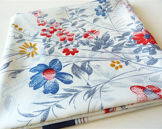 Boselli Italy floral print scarf, A & F Baillargeon Express corporate gift