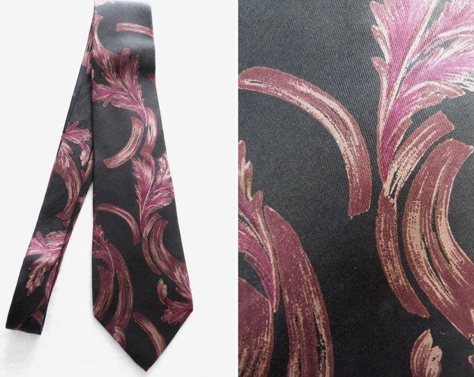 LANVIN high fashion silk brocade tie