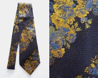 KENZO high fashion silk brocade tie