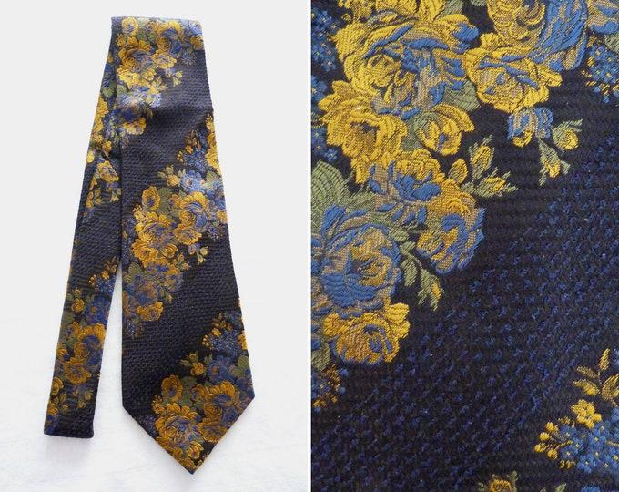 KENZO luxury ready-to-wear silk brocade tie