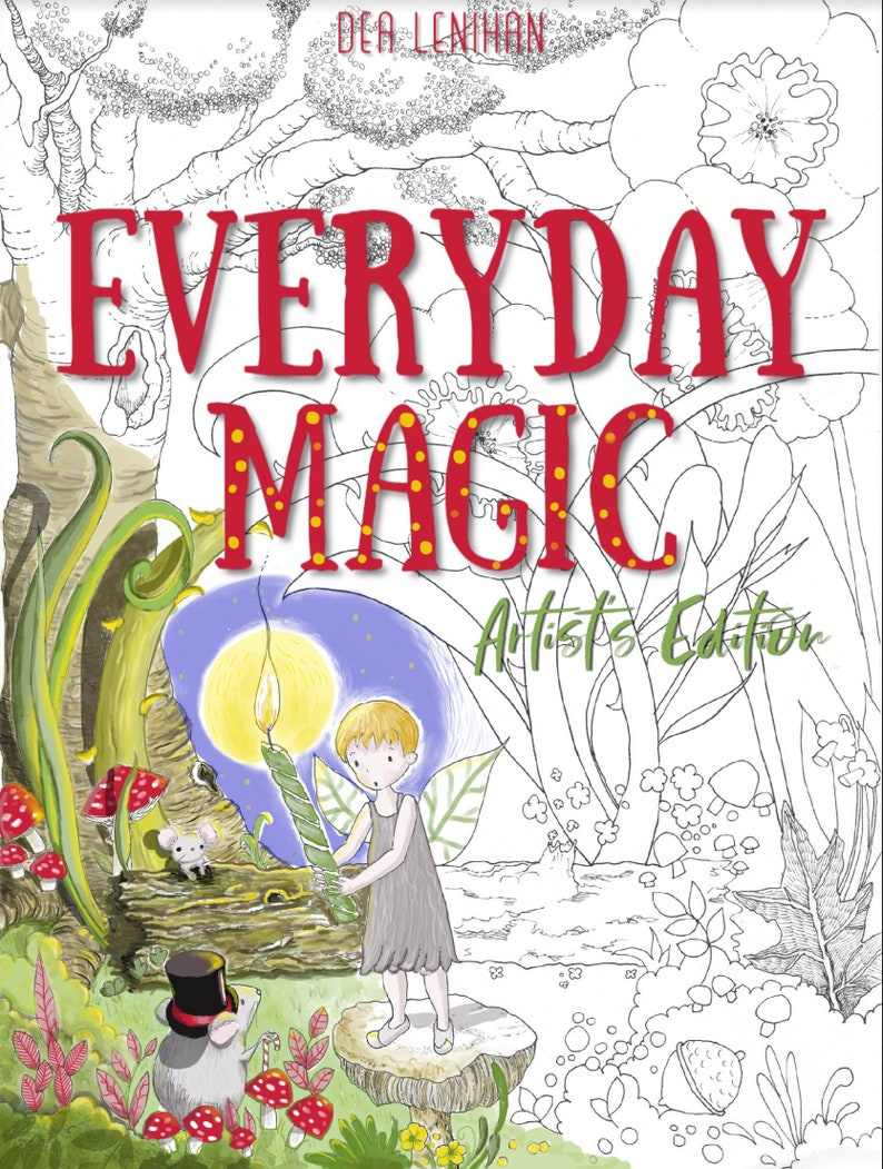 EVERYDAY MAGIC Artist's Edition Coloring BookFree image 0