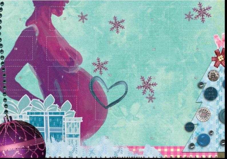 Christmas Calendar for Moms-to-be image 0