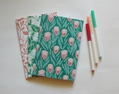 Set of 3 Floral Notebooks...