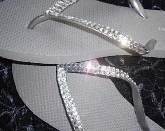 c36b268238cc51 Flip Flops With Crystals For Weddings