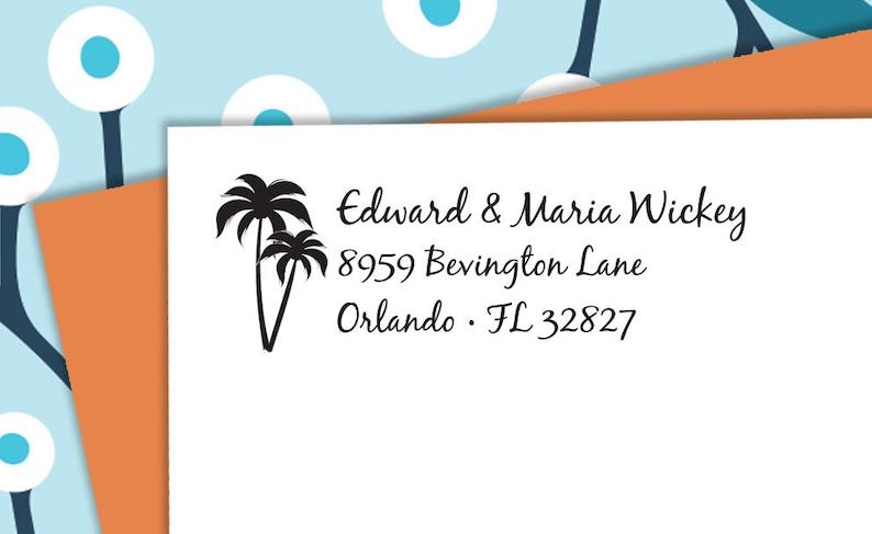 Housewarming Gift c6-31 Custom Stamp Return Address Stamp Address Stamp CUSTOM ADDRESS STAMP Return Address Stamp Pre Inked
