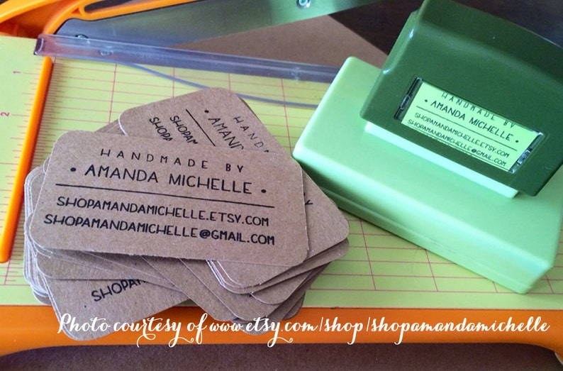 custom address stamp eco friendly custom address stamp with proof pre inked business stamp from USA for gift tag Stamp d8-3