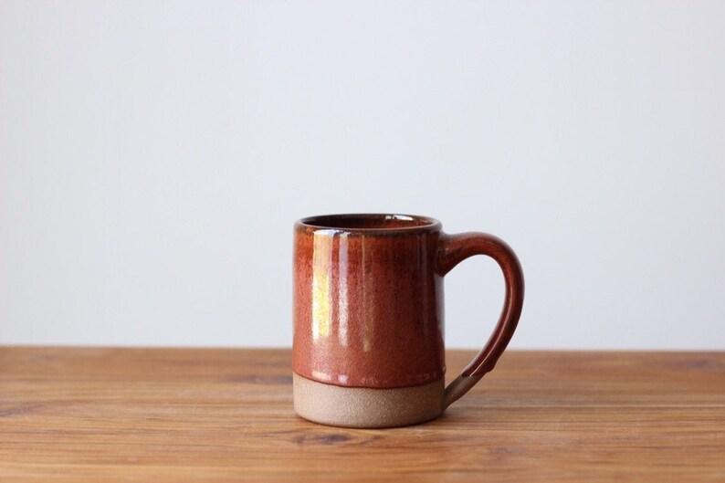 Farmhouse Mug  Large Handmade Ceramic Mug image 0