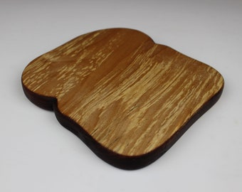 Toast with Crust Board in Spalted Birch