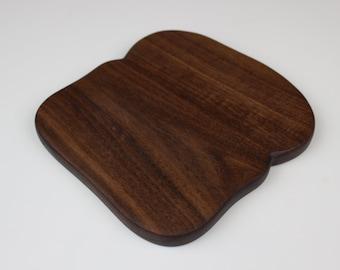 Toast with Crust Board in Black Walnut