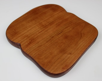 Toast with Crust Board in Curly Cherry