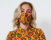 NEW FACE MASKS! Select 3 Prints