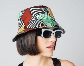 NEW Classic Bucket Hats- 4 PRINTS AVAILABLE ankara print african print dutch wax cotton hat