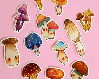 Mushroom Bros Sticker Set