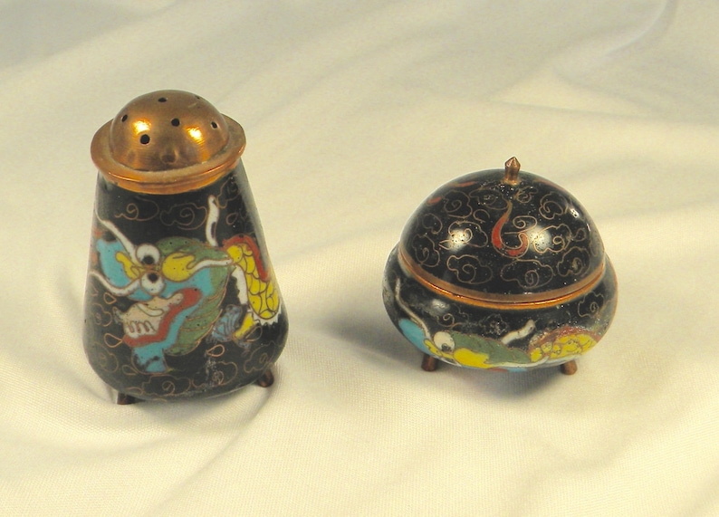 Confident Lot Of 8 Vintage Cloisonne Box Selling Well All Over The World Antiques
