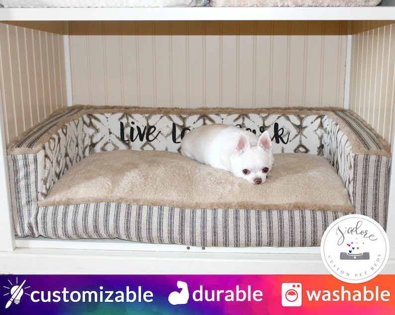 Custom Size Cabinet Dog Bed  Design Your Own Custom Dog Bed  image 0