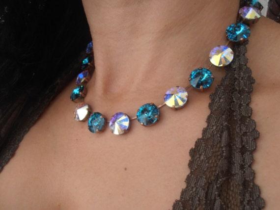 Anna wintour collet necklace w/ Swarovski • Personalized jewelry
