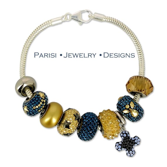 Swarovski Becharmed Pave Bracelet / Micro pave  925 Sterling Silver Jewelry