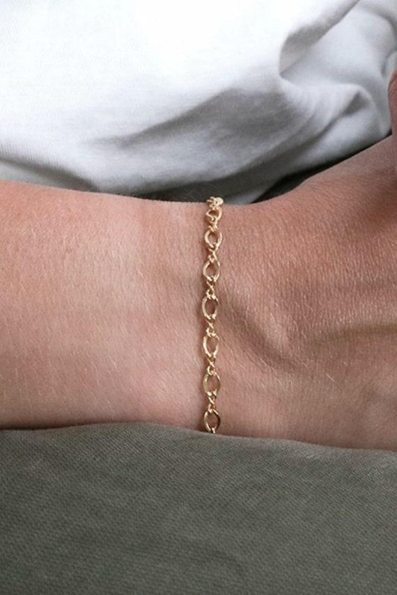 Gold Filled Mesh Bracelet • Everyday Women Jewelry