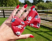 Red Pirates Dog Bow Tie, ...