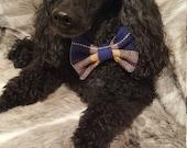 NEW Tartan Dog Bow Tie, M...