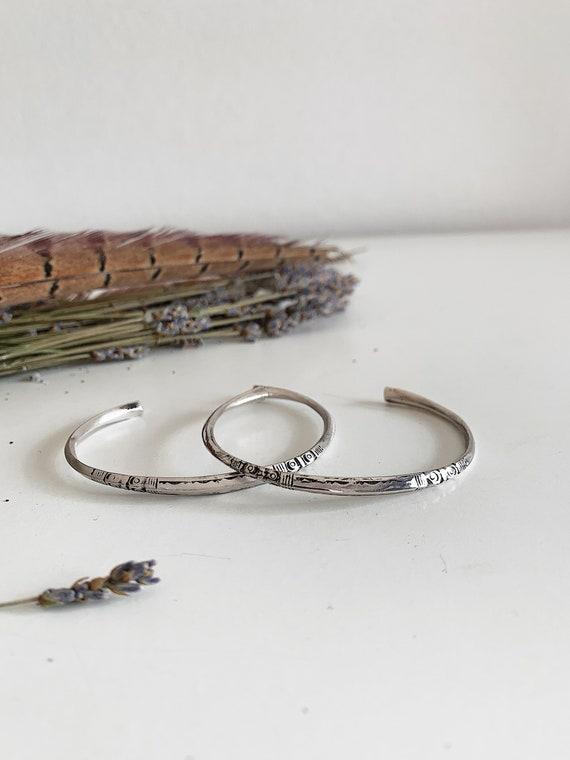 Silver bracelet,silver bangle,silver cuff,slim solid silver bracelet,men's bracelet,adjustable silver bracelet,slim bracelet,boho bracelet