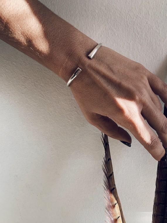 Silver bracelet,silver bangle,silver cuff,solid silver bracelet,men's bracelet,minimalist silver bracelet,simple bracelet