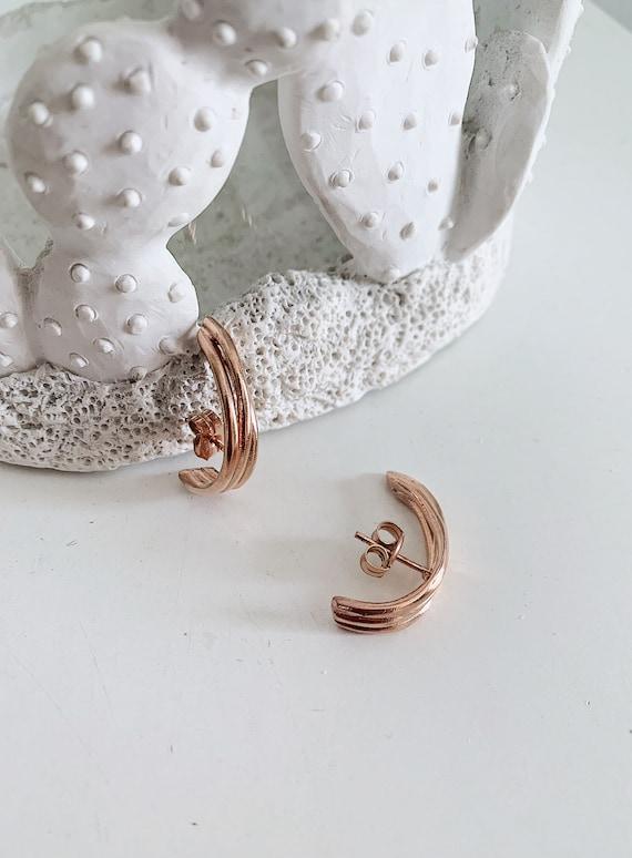 Sterling silver earrings,ear cuffs,minimalistic earrings,edgy earrings,contemporary earrings,simple earrings,suspender earrings