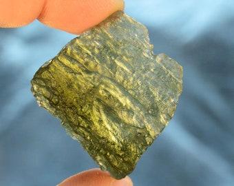 14K Gold Flat Rondell Spacers Attract LUCK Protection MOLDAVITE Green PYRITE Abundance Selenite