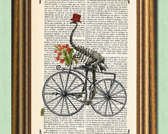 GOING To My SWEETHEART - Dictionary Art Print - Wall Art