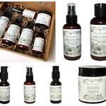 Custom Illustrative Label & Package Designs for Renae