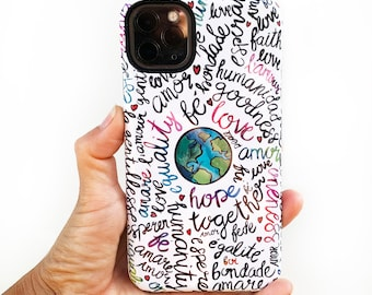 Inspirational Phone Case for iPhone Xs Max, Xr, Xs/X, 11, 8, Samsung Galaxy S8, S8+, S9, S9+, S10