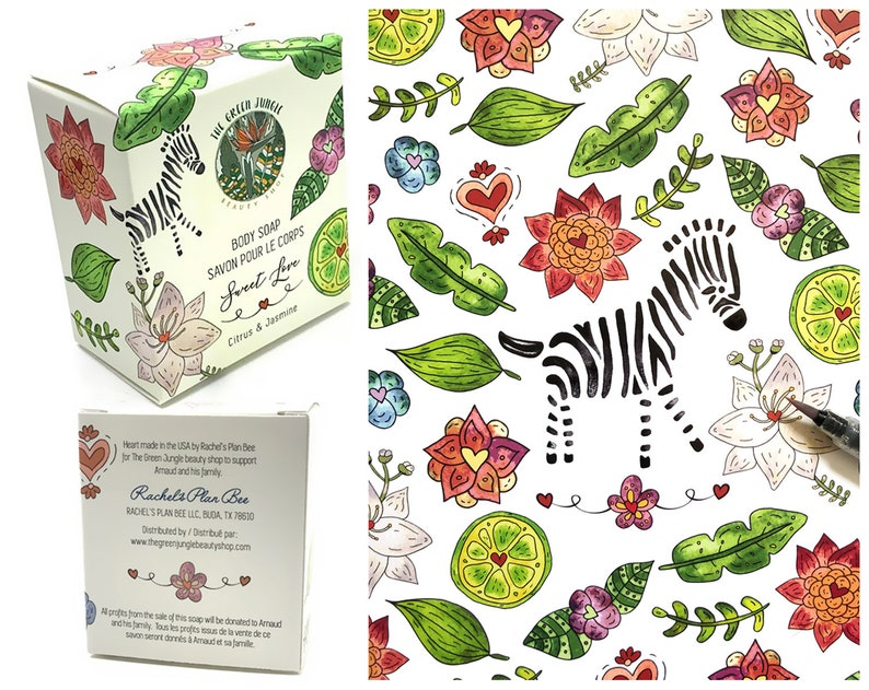 Custom Illustrative Professional Product Package Design image 0