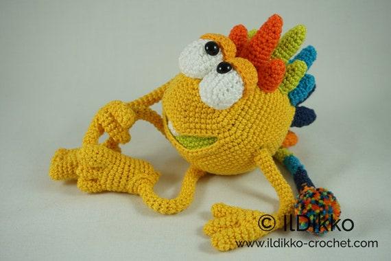 "Amigurumi – Minimee Crochet Zombie ""Ouk"" - premium & free patterns ... | 380x570"