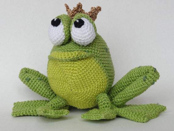 Amigurumi Häkel Muster Henri der Frosch Deutsche Anleitung
