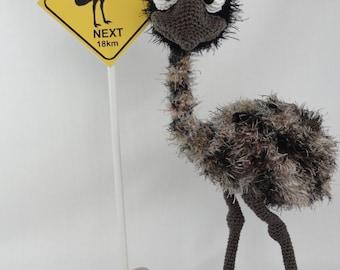 Amigurumi Pattern - Emma the Emu - English Version