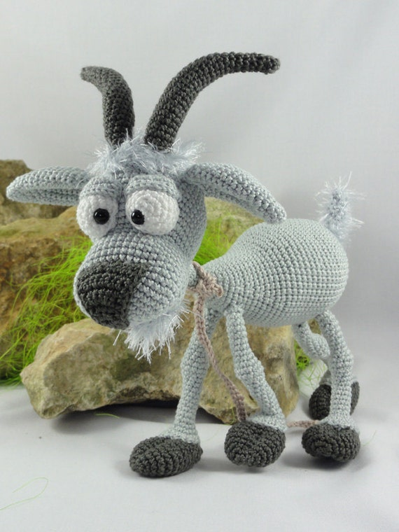 Crochet ... Amigurumi: Billy Goat - crochet - #Amigurumi #Billy ... | 760x570