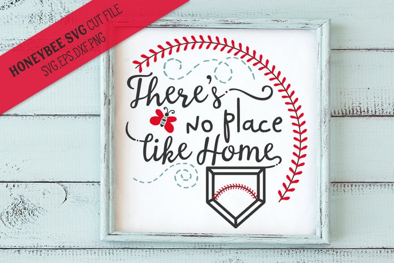There S No Place Like Home Svg Cut File Etsy