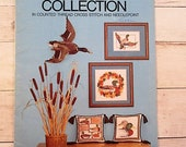 Mallard Collection in Counted Thread Cross Stitch Needlepoint - Something Special 90002 - Vintage Cross Stitch Pattern - 1981