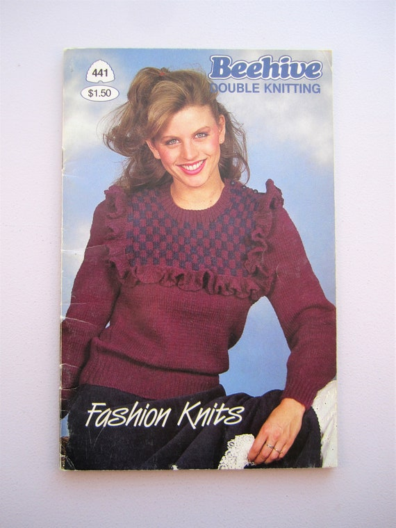 Patons Beehive Book 441 Double Knitting Fashion Knits Etsy