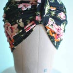 Floral Turban Hat or Turban/Knotted Headband