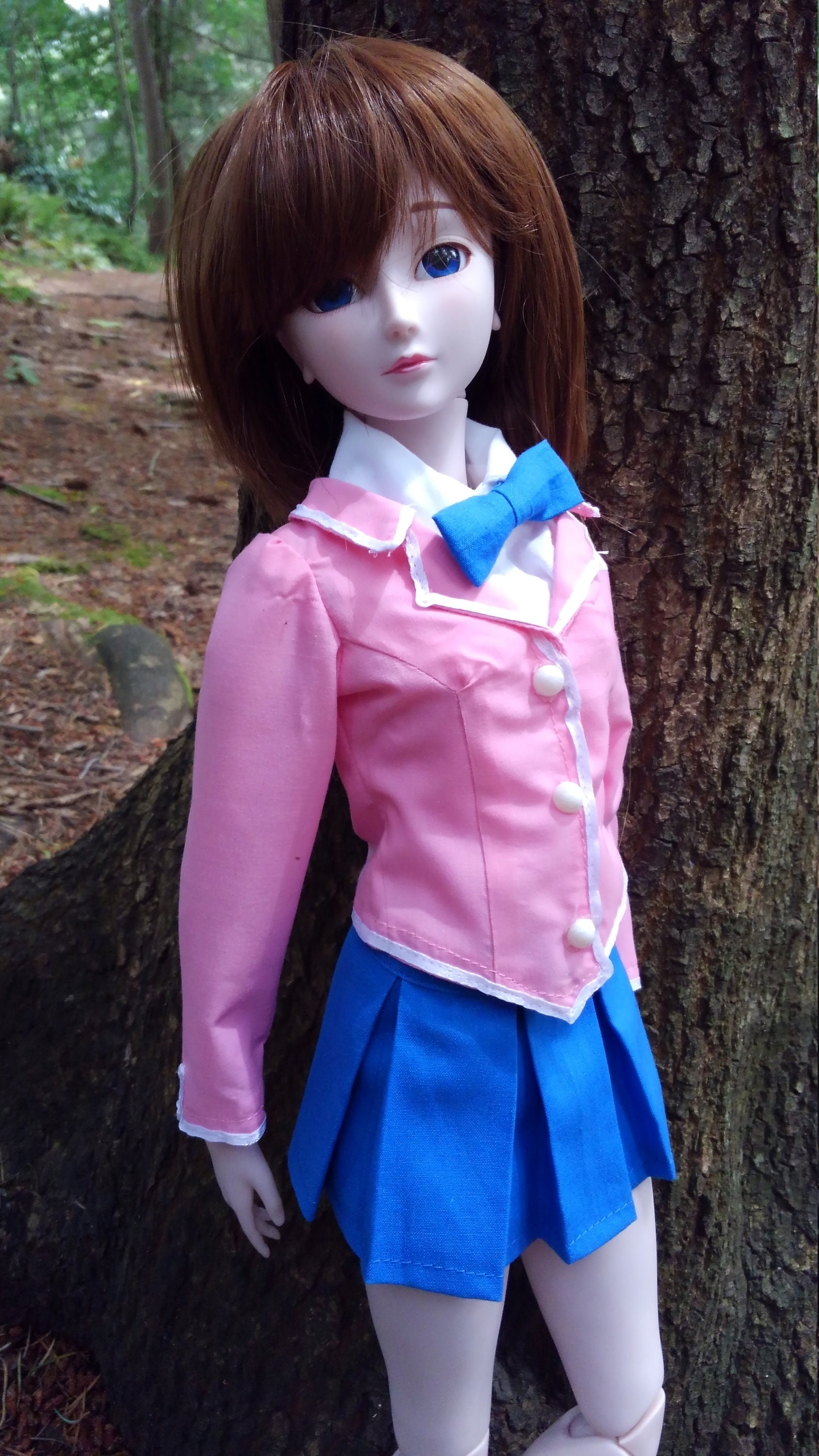 Girl\'s Domino High School Uniform for 1/3rd scale dolls. | Etsy