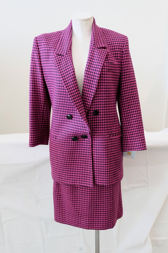 1980's Vintage WOMENS' Long Double Breasted Blazer