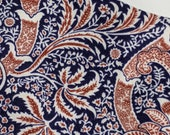 William Morris Indian inspired floral Montagu Indian Medici
