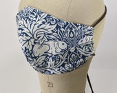 William Morris rabbit hare mask - new color!