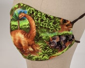 Tropical Dinosaur mask - Look Out!!