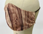 Wood grain mask!