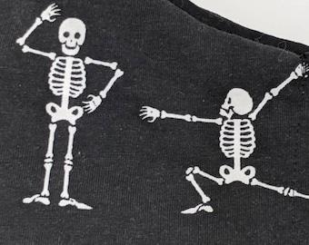 Stretchy dancey skeletons mask