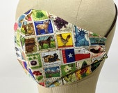US stamps mask!